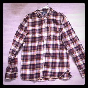 True Religion Long Sleeve Button Up M